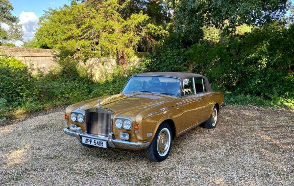 Hire A Rolls Royce Silver Shadow